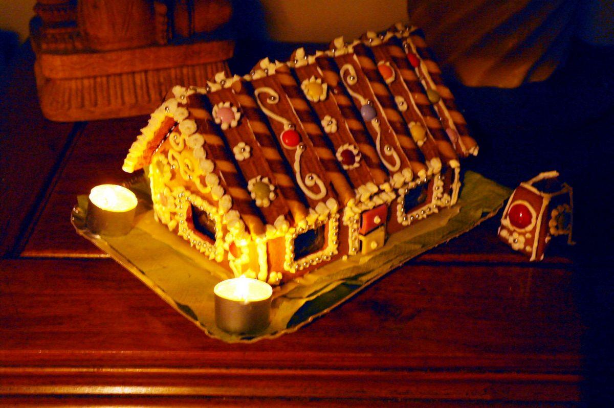 Casetta Di Natale Ikea : C era una volta una casetta di pan di zenzero difficoltà elaborata